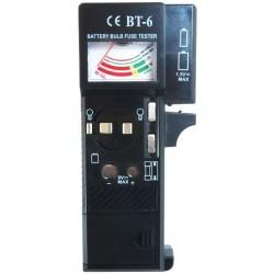 Batterijtester - ook geschikt voor lampen en zekeringen - image #1