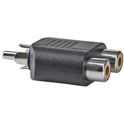 RCA - 2x RCA Contra - Subwoofer adapter - image #1