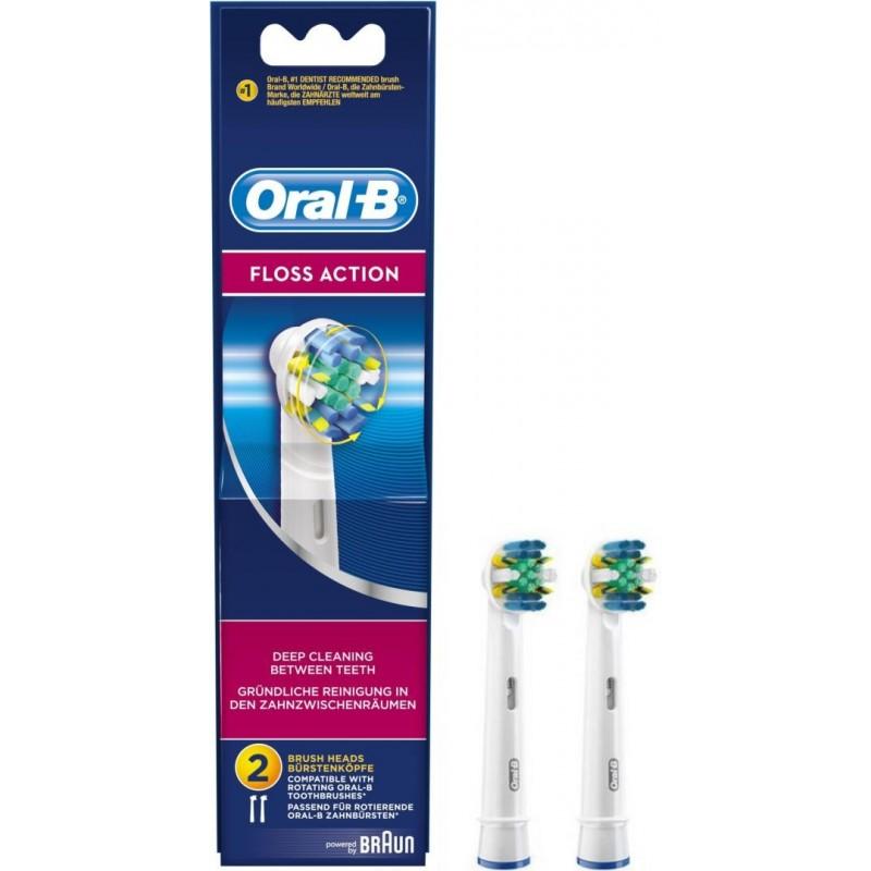 Oral-B Floss Action Tandenborstels - 2 stuks - image #1