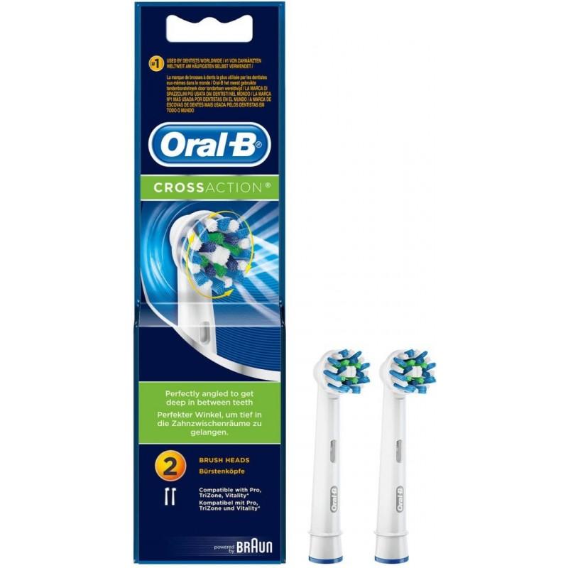 Oral-B CrossAction Tandenborstels - 2 stuks - image #1