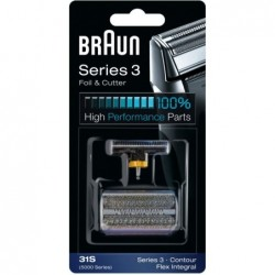 Braun 31S Scheerblad met Mes 5000 Series Zilver - image #1