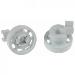 Bosch 00424717 Wiel van bovenkorf voor vaatwasser - 2 stuks - image #1