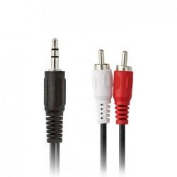 Jack 3,5mm - 2x Tulp Kabel - 1.5m - image #1