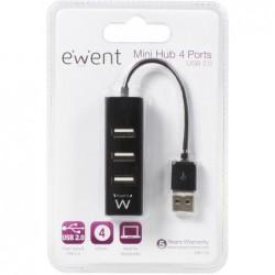 Ewent USB hub met 4 poorten - USB2.0 - image #1