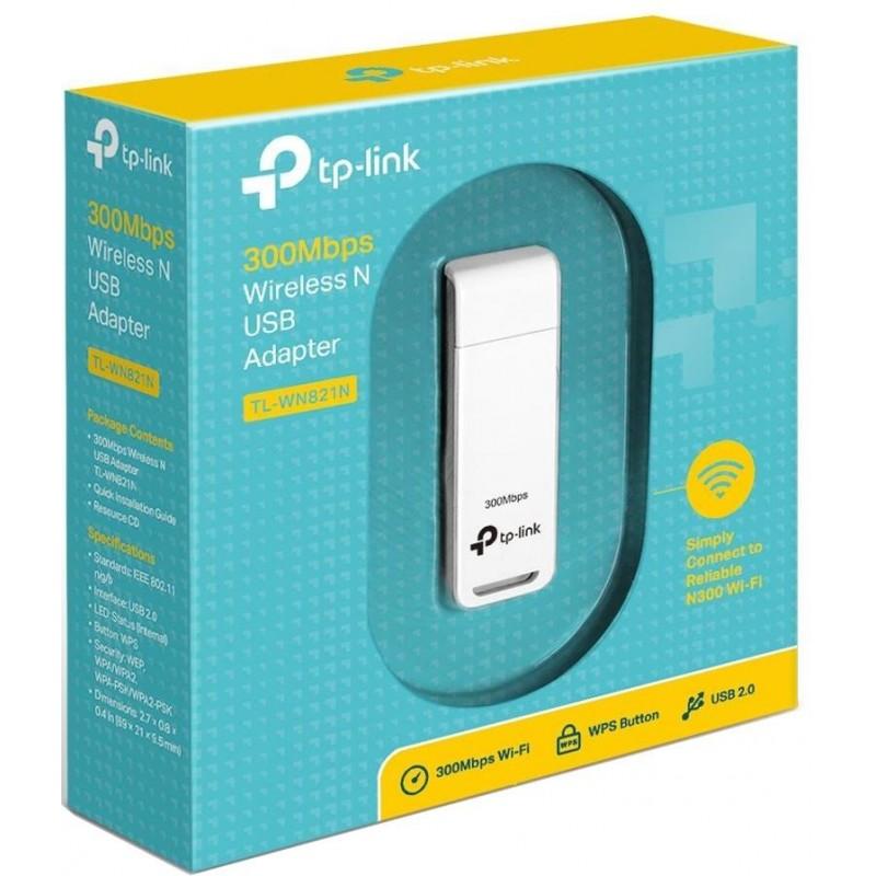 TP-Link WiFi Ontvanger USB2.0 - 300 Mbps - image #1
