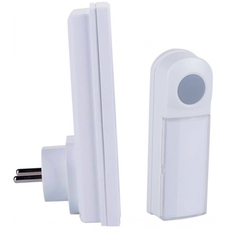 Byron DB411E - Draadloze deurbel - 50m - Plug-in - image #1