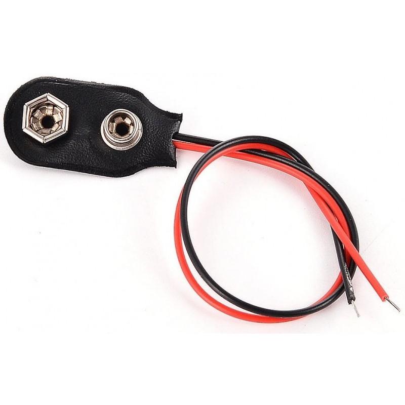 Batterij Clip 9V - 1 stuk - image #1