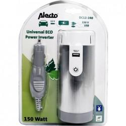 Alecto Omvormer 12V naar 230V - Incl. USB - Max. 150W - image #1