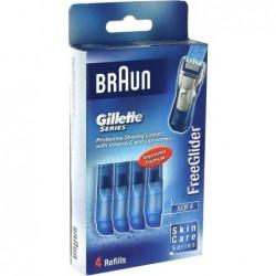 Braun SCR4 FreeGlider Cartridges - 4 stuks - image #1