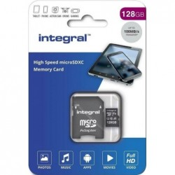 Integral Micro SD Kaart 128GB - incl. adapter - image #1