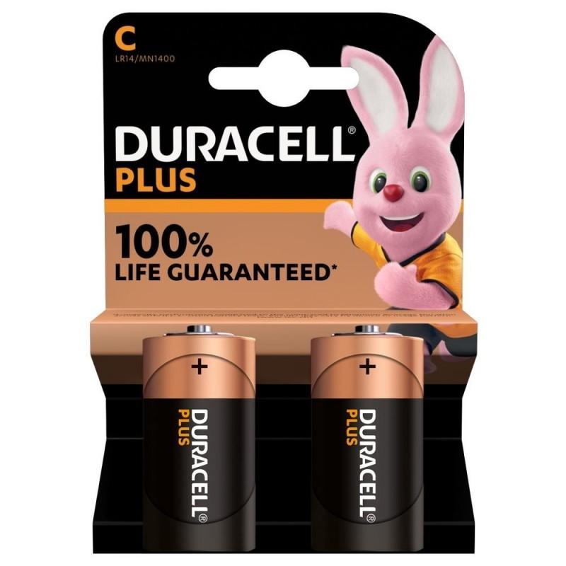 Duracell Plus Alkaline C Batterijen - image #1