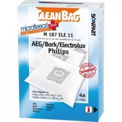 CleanBag M187ELE11 - Stofzuigerzakken - 4 stuks - image #1