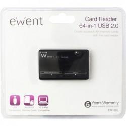 Ewent 64-in-1 Kaartlezer USB 2.0 - image #1