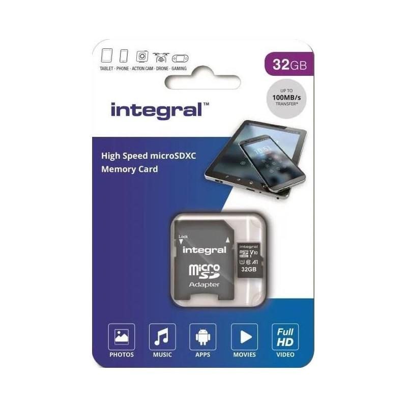 Integral Micro SD Kaart 32GB - incl. adapter - image #1