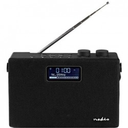 Nedis FM, DAB+, radio met Bluetooth - 15W - image #1