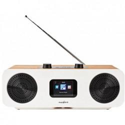 Nedis FM, DAB+ en internet radio met WiFi en Bluetooth - 34W - met afstandsbediening - image #1