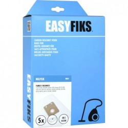 Easyfiks NI05 - Stofzuigerzakken - Geschikt voor Nilfisk Family Business, VP300, Nilfisk Thor - 5 stuks - image #1