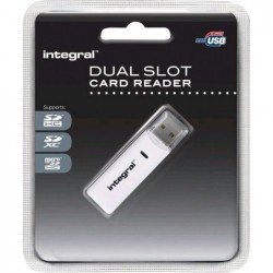 Integral SD + Micro SD Kaartlezer USB2.0 - image #1