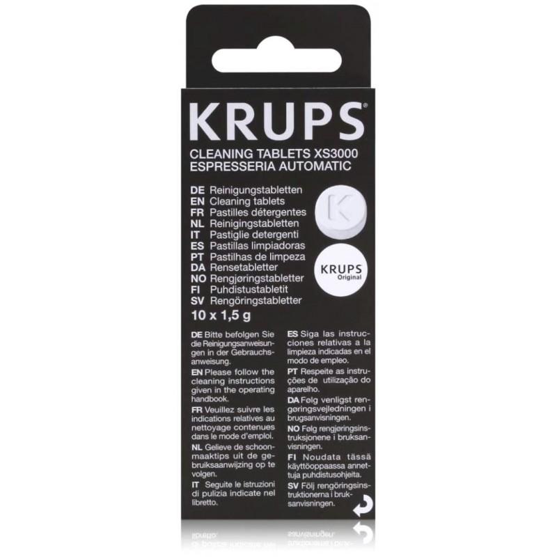 Krups XS3000 Reinigingstabletten - Koffiemachinereiniger - 10 stuks - image #1