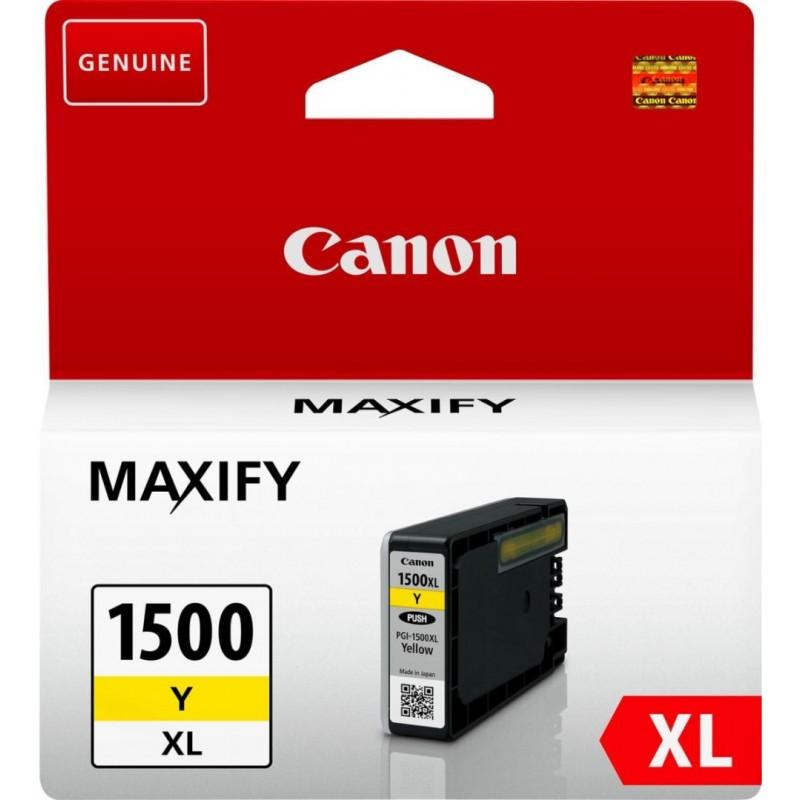 Canon PGI-1500Y XL Inktcartridge - Geel - image #1