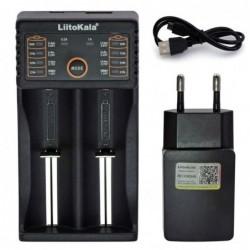 LiitoKala Tweevoudige Oplader voor 3.6V & 37V Li-ion Batterijen - image #1