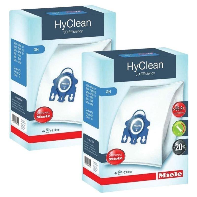 Miele HyClean 3D Efficiency GN - Stofzuigerzakken - 2 pack - 8 stuks - image #1