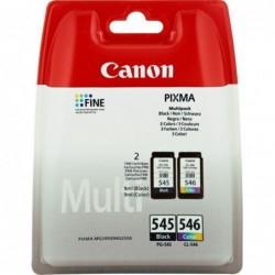 Canon PG-545, CL-546 Inktcartridge - Combipack - Zwart en kleur - image #1