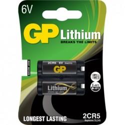 GP Lithium 2CR5 / DL245 Batterij 6V - image #1