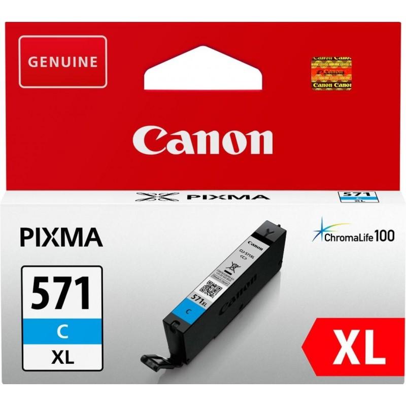 Canon CLI-571C XL Inktcartridge - Cyaan - image #1