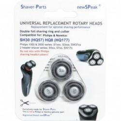 Shaver-Parts Scheerkoppen geschikt voor Philips SH30 - image #1