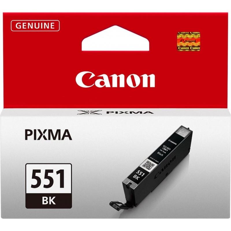 Canon CLI-551BK Inktcartridge - Zwart - image #1