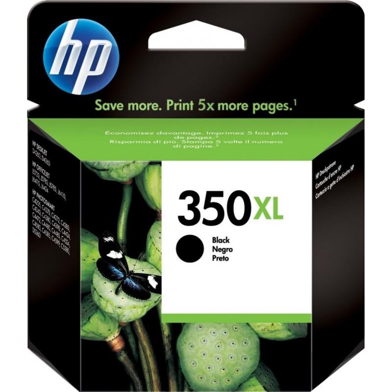 HP 350XL Inktcartridge - Zwart - image #1