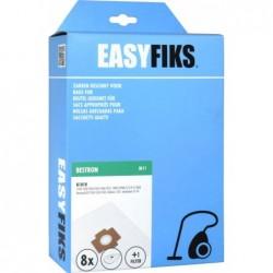 Easyfiks BE11 - Stofzuigerzakken - Geschikt voor Bestron K1010 - 8 stuks - image #1