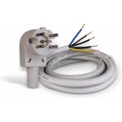 Perilex Aansluitkabel - 2,5m - Perilex kabel met stekker voor oven, fornuis en combi-magnetron - 5x2.50mm - image #1