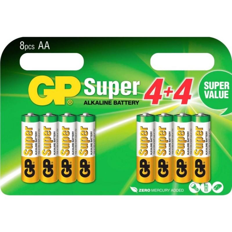 GP Super Alkaline AA Batterijen A8 - image #1