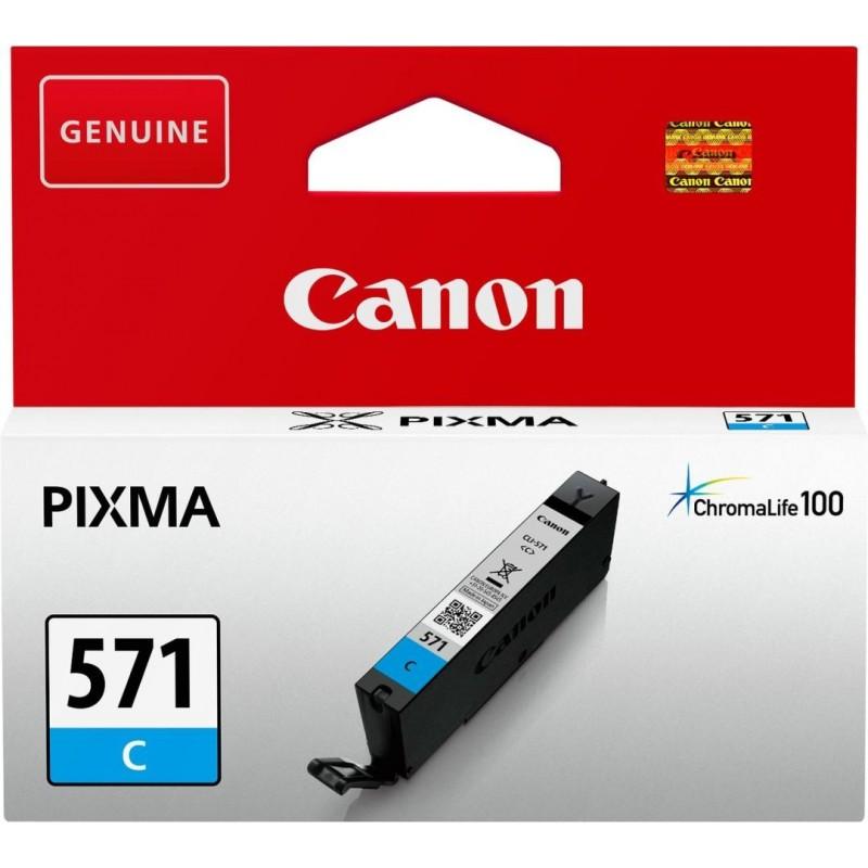 Canon CLI-571C Inktcartridge - Cyaan - image #1