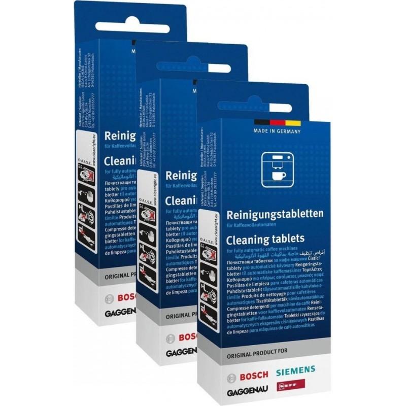 Bosch/Siemens Reingingstabletten - Koffiemachinereiniger - 3 x 10 stuks - image #1