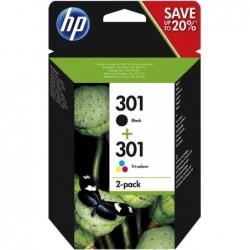 HP 301 Inktcartridge - Combipack - Zwart en kleur - image #1