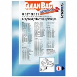 CleanBag M187ELE11 - Stofzuigerzakken - 4 stuks - image #2