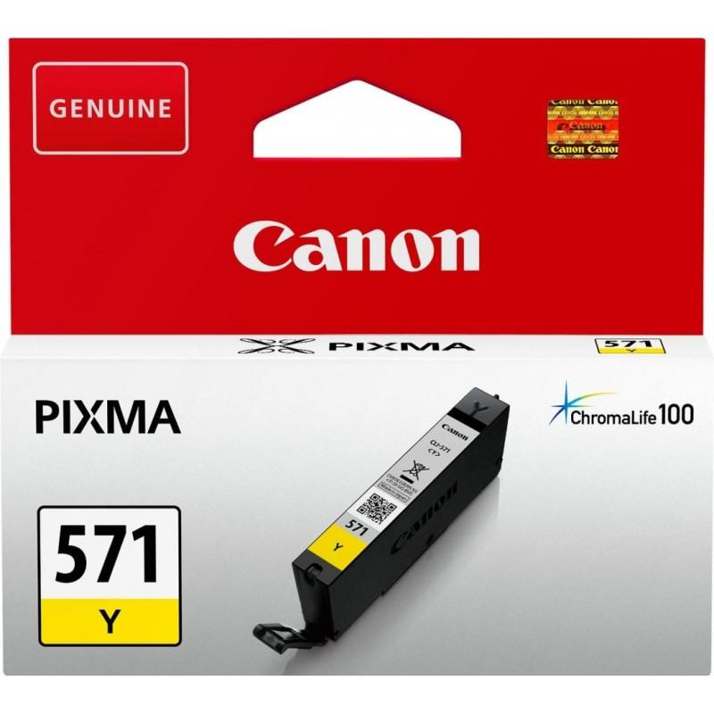 Canon CLI-571Y Inktcartridge - Geel - image #1