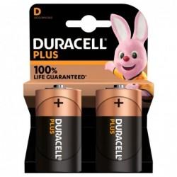 Duracell Plus Alkaline D Batterijen - image #1