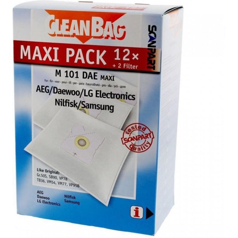 CleanBag M101DAE Maxi - Stofzuigerzakken - 12 stuks - image #1