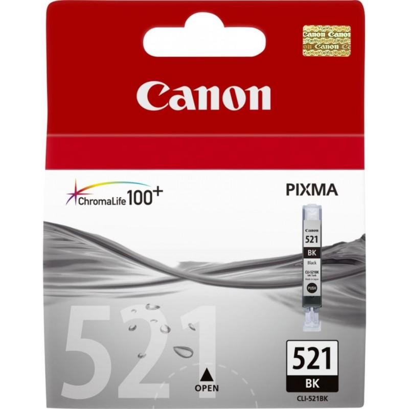 Canon CLI-521BK Inktcartridge - Zwart - image #1